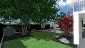Giardino Rendering Biopool Garden