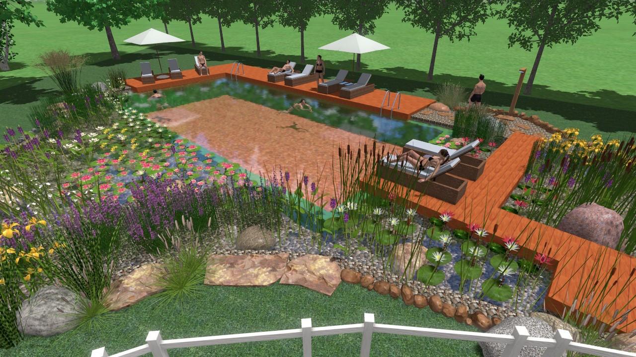 Biopool e garden costruzione biopiscine e manutenzione for Progettazioni giardini