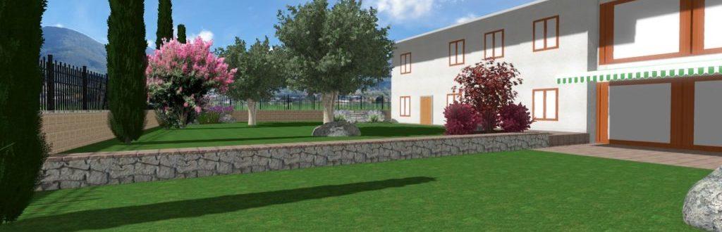 Rendering Progettazione Giardino Vago Di Lavagno Verona 1 1024x576