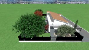 Rendring Realistici Giardini Biopiscine