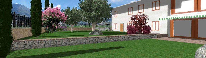 progettazione giardino vago di lavagno verona