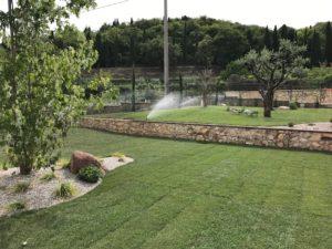 impianto irrigatore turbina automatico verona giardini