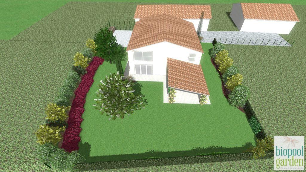 Progetto Giardino Casa Privata 1